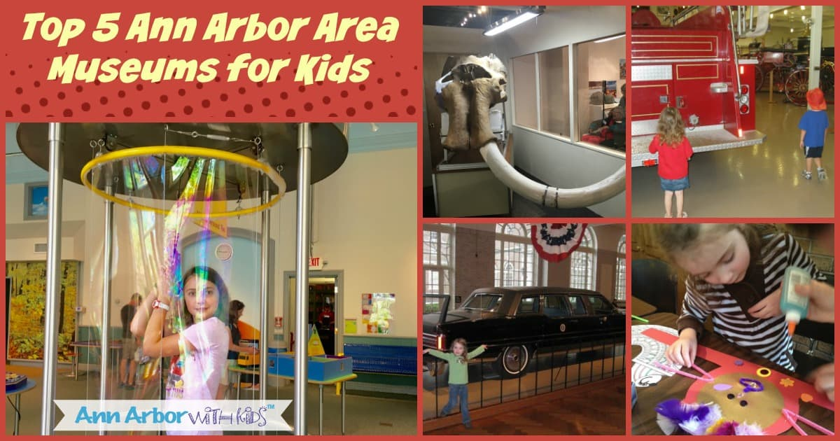 Ann Arbor Indoor Activities - Top 5 Ann Arbor Area Museums for Kids