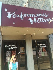 Pancakes with Huck Finn at Performance Network Theatre Out Front