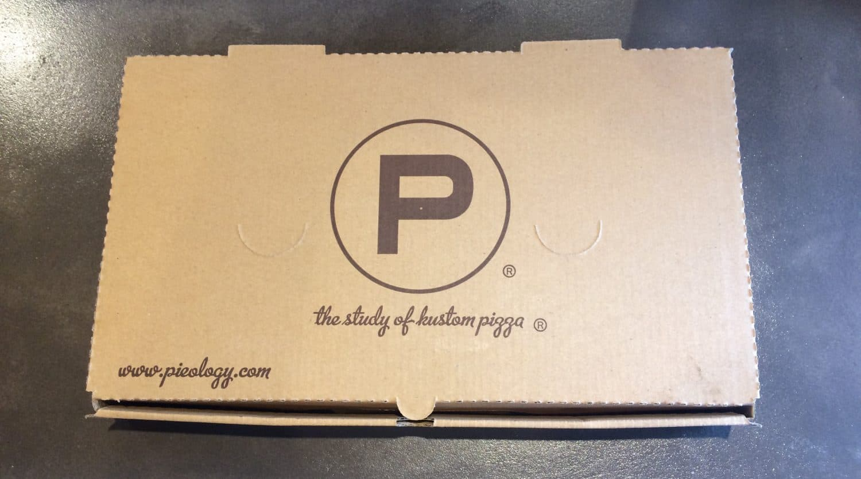 Pieology Pizza - Take Out Box
