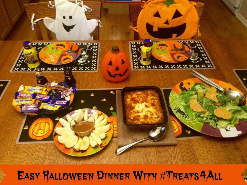 Easy Halloween Dinner with #Treats4All Hero