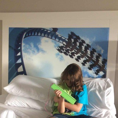 Cedar Point HalloWeekends 2015 Hotel Breakers Gatekeeper Bed