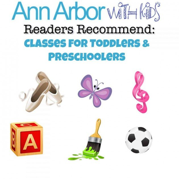 Readers Recommend Classes for Preschoolers and Toddlers