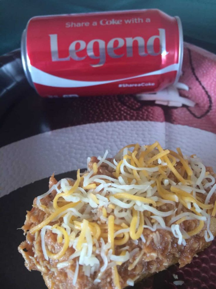 #ShareYourSpirit with an At-Home Tailgate - Barbe-Coke Shredded Chicken