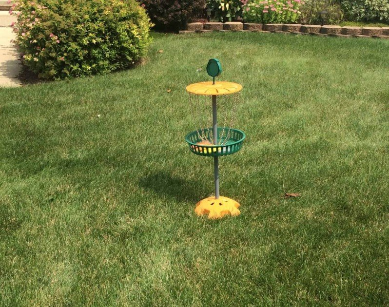 #ShareYourSpirit with an At-Home Tailgate - Disc Golf