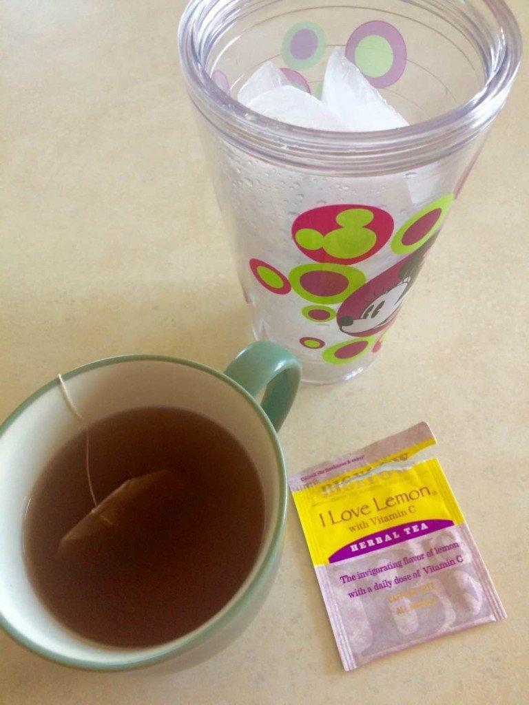 Taking a Back to School Break with Bigelow - Making Iced Tea #MeAndMyTea
