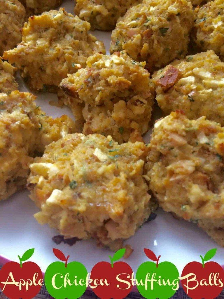 Apple Chicken Stuffing