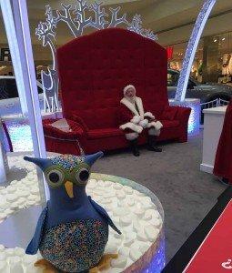 Arbor Annie is ready to visit Santa at Briarwood Mall