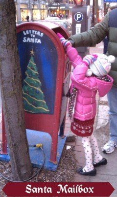 Ann Arbor Santa Mailbox