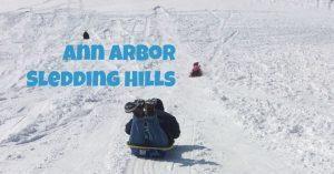 Ann Arbor Sledding Hills