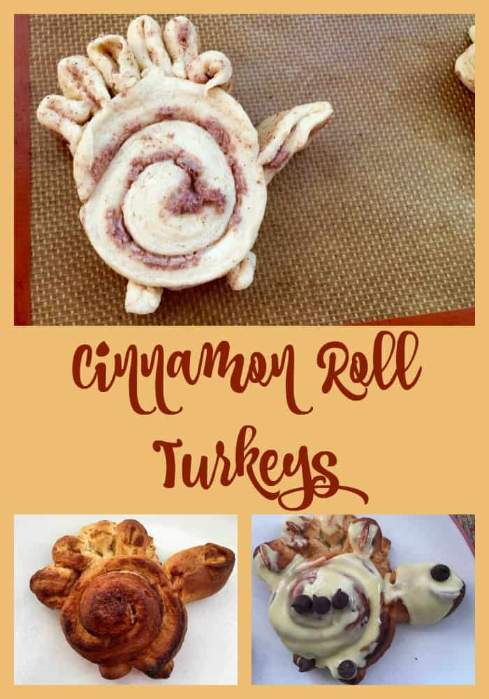 Celebrate Thanksgiving with Cinnamon Roll Turkeys