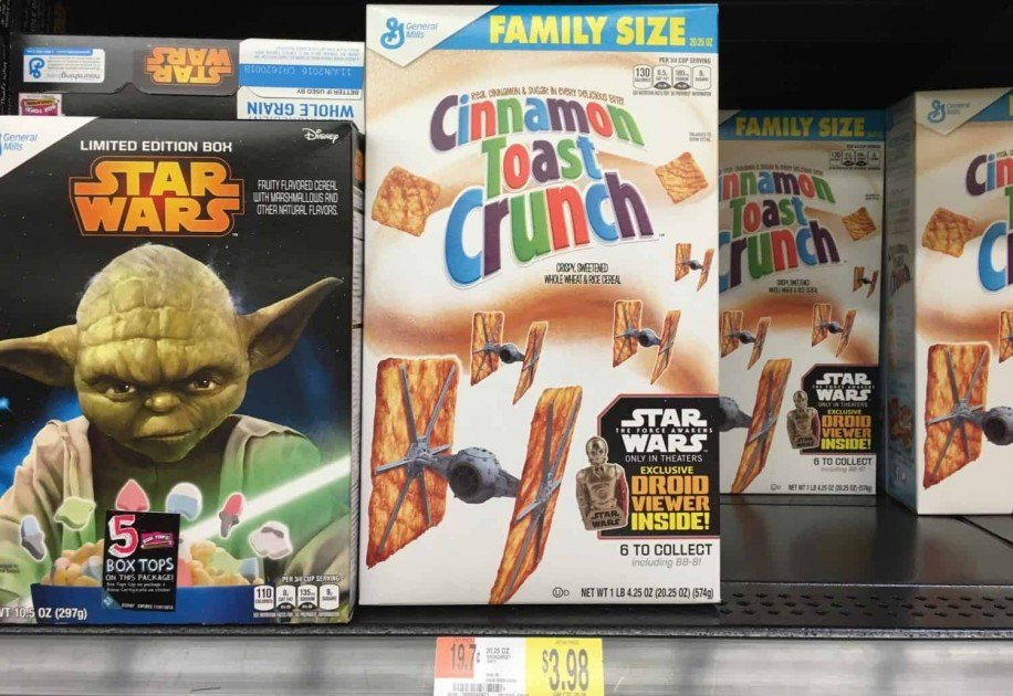 Star Wars™ Cinnamon Toast Crunch French Toast Store Photo
