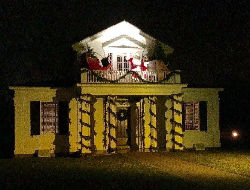 Santa at Greenfield Village's Holiday Nights