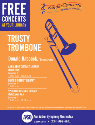 2016 A2SO KinderConcerts: Trombone