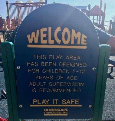 Ford Heritage Park - Landscape Structures Sign