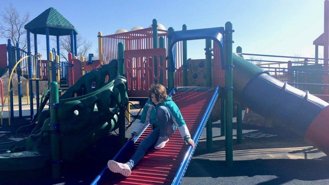 Ford Heritage Park - Roller Slide