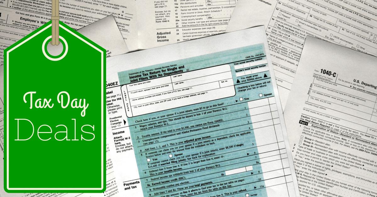 2016 Ann Arbor Tax Day Deals