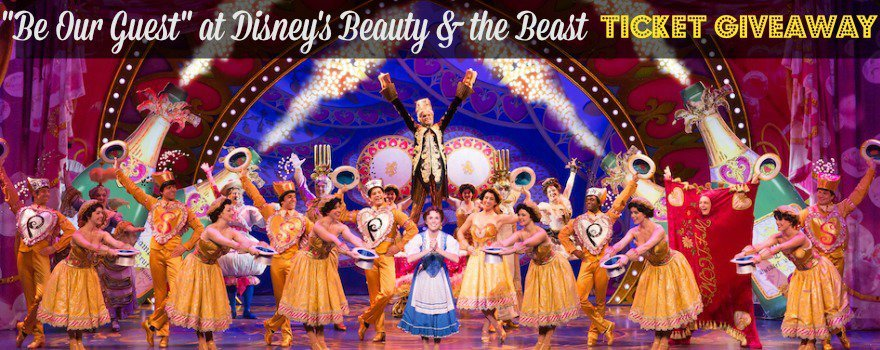 Disney's Beauty & the Beast Detroit Ticket Giveaway