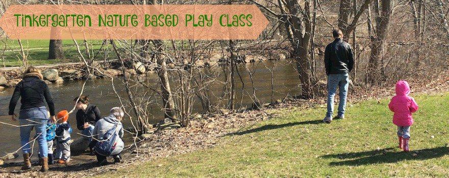 Tinkergarten Nature Based Play Class