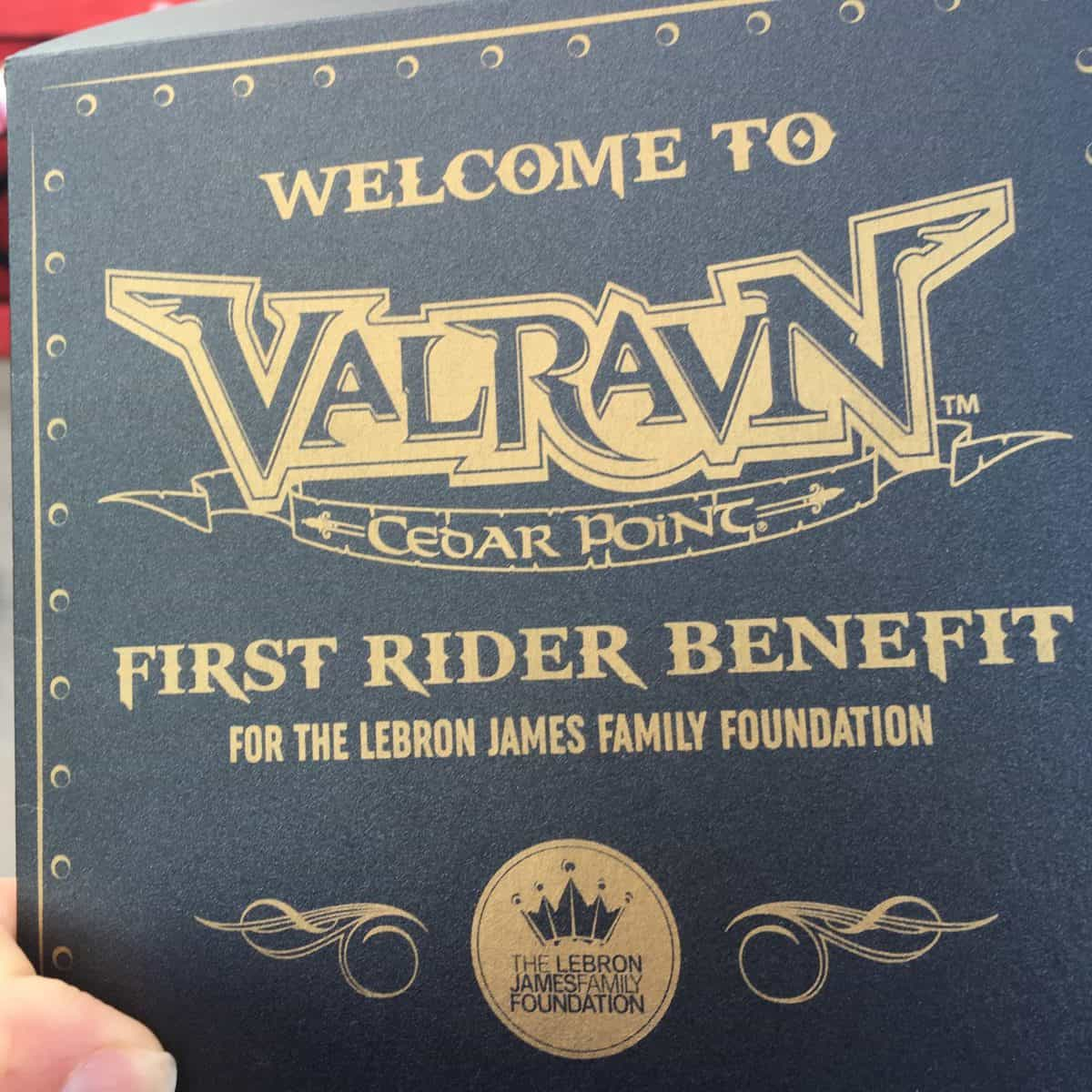 Valravn Review - First Rider Benefit