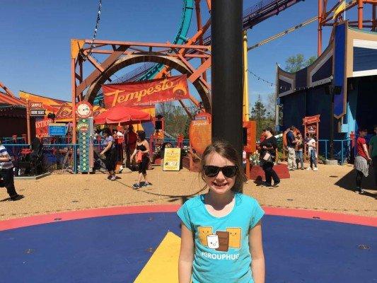 Busch Gardens Tempesto Roller Coaster - Virginia Road Trip