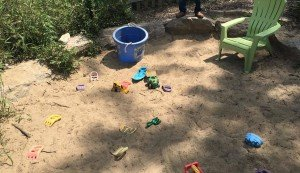 Matthaei Botanical Garden - Children's Garden - Sandbox