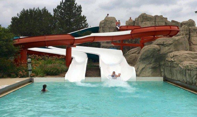 Rolling Hills Water Park - Old Slides