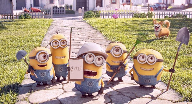 Mower Minions Premieres with The Secret Life of Pets