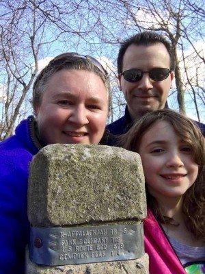 On the Appalachian Trail in Shenandoah National Park - Virginia Road Trip