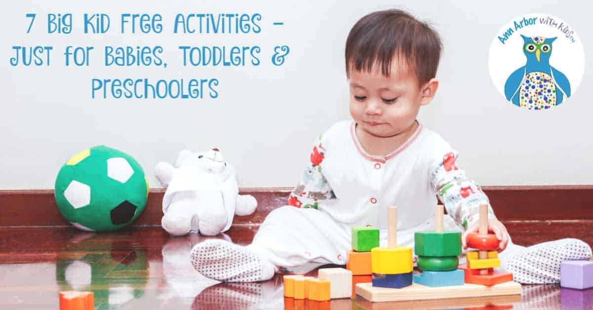 7 Big Kid Free Activities - Ann Arbor Activities for Babies, Toddlers, & Preschoolers