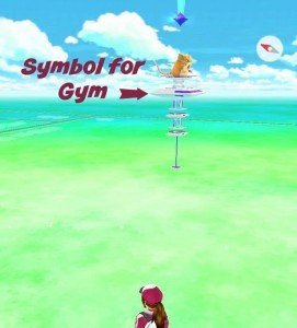 Ann Arbor Pokemon Go - Gym on Map
