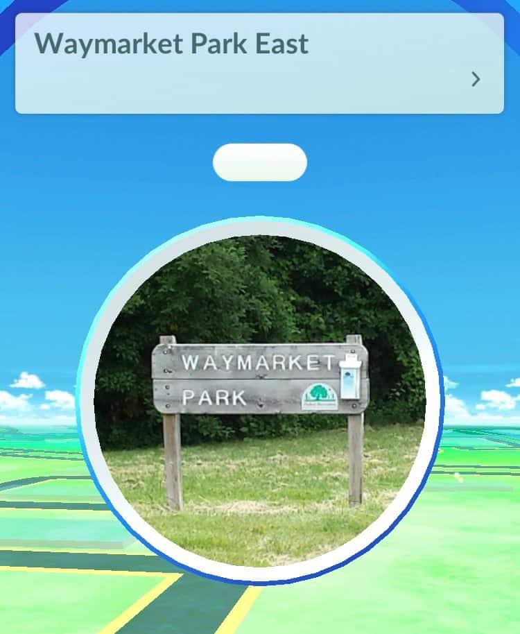Ann Arbor Pokemon Go - Pokestop at Waymarket Park
