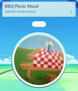 Satchel's BBQ Pokestop