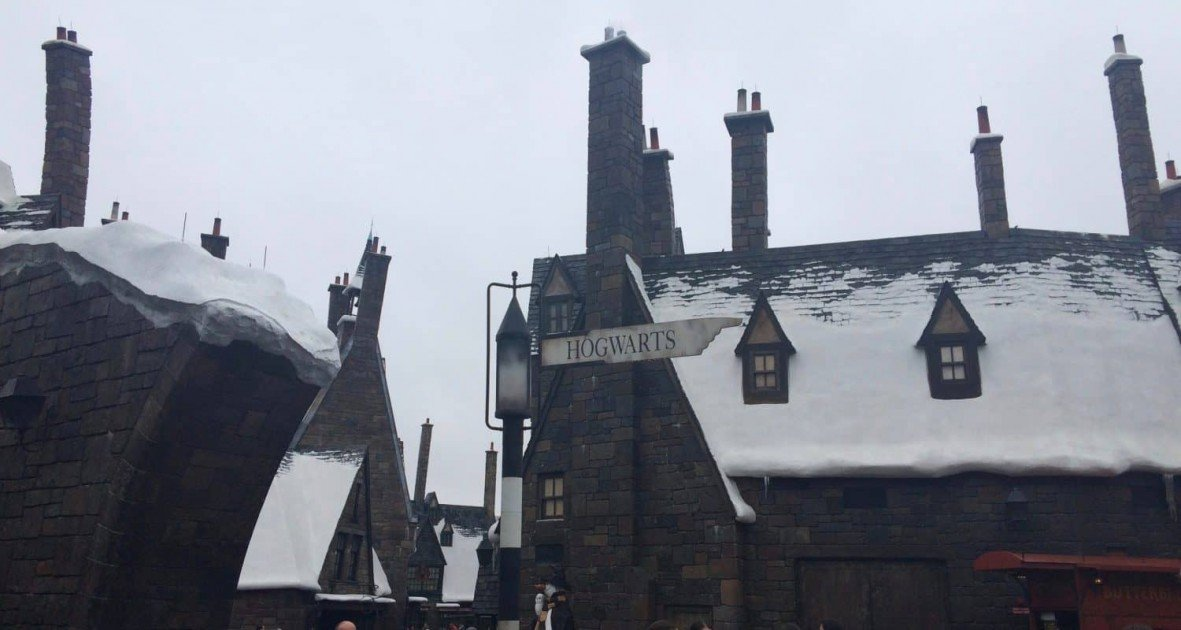 Visiting Harry Potter - Hogsmeade at Universal Orlando