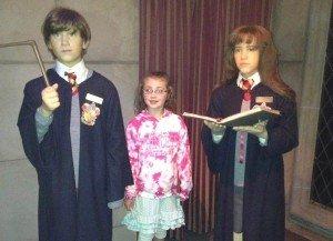 Visiting Harry Potter- Louis Tussaud Wax Museum - Niagara Falls