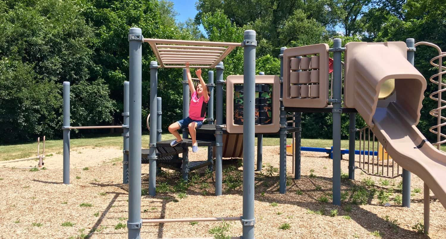 Waymarket Park - Monkey Bars