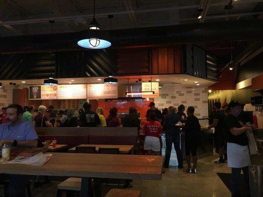 Blaze Pizza Ann Arbor -Interior