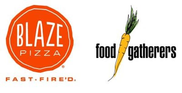 Blaze Pizza & Food Gatherers