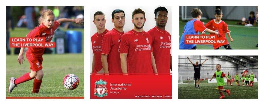 Liverpool Football Club - Fall Classes