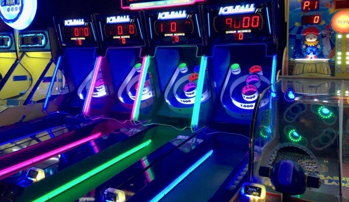 Revel & Roll Arcade - Skee-Ball
