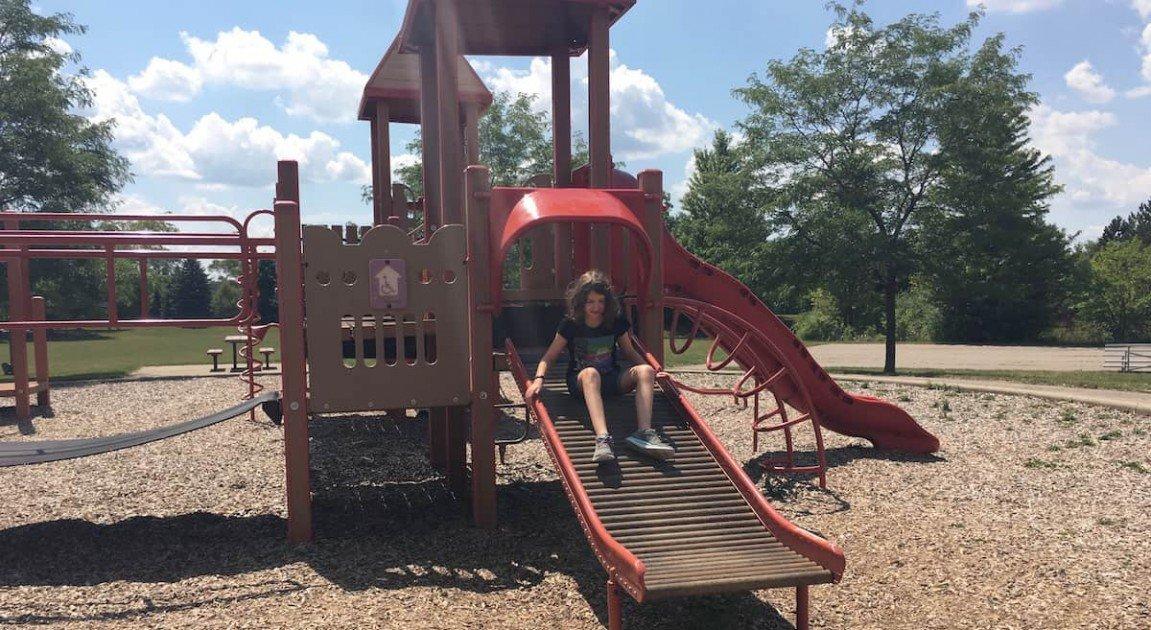 Southeast Area Park - Roller Slide