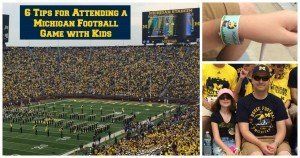 6 Tips for Attending a Michigan Football Game with Kids