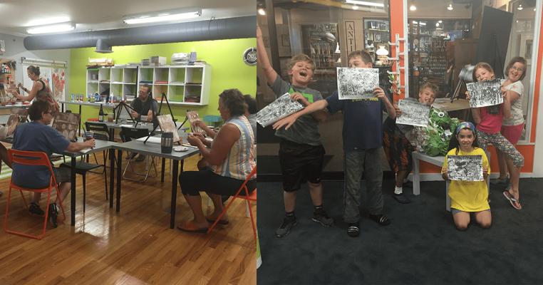 Flipside Art Studio - Adult and Youth Art Classes