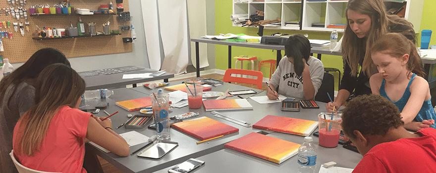 Flipside Art Studio - Junior High Art Class