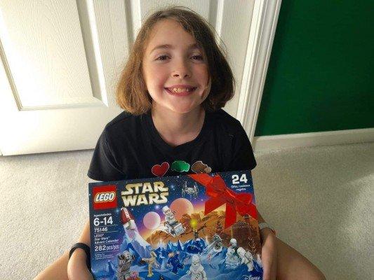 I love my Star Wars LEGO Advent Calendar