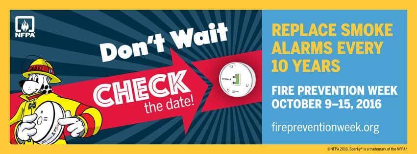 Fire Prevention Week 2016