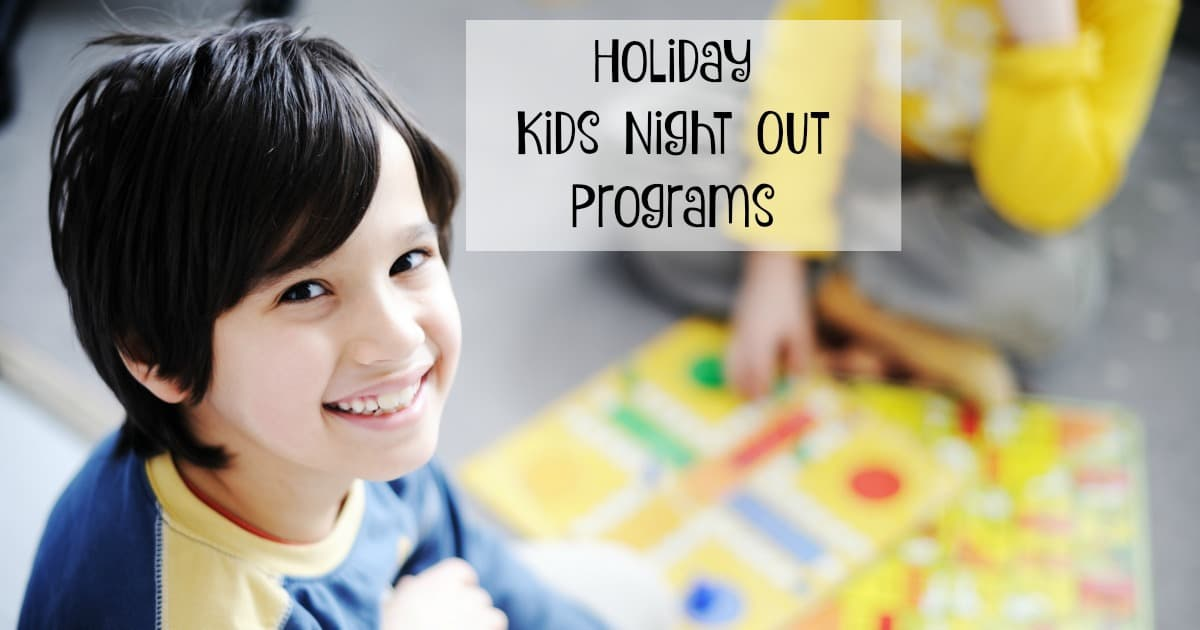 Holiday Season Ann Arbor Kids Night Out Programs