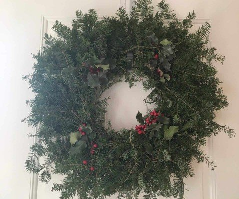 Greenfield Village Holiday Nights - Wreath (at home)