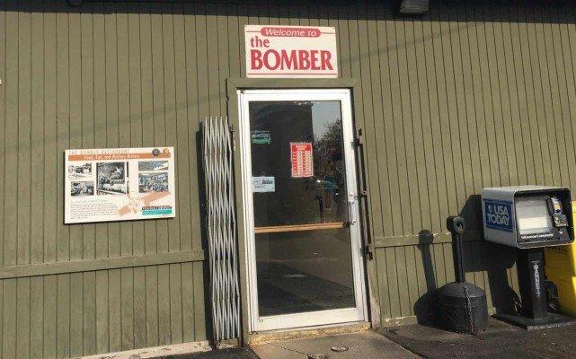 The Bomber Restaurant - Back Entrance
