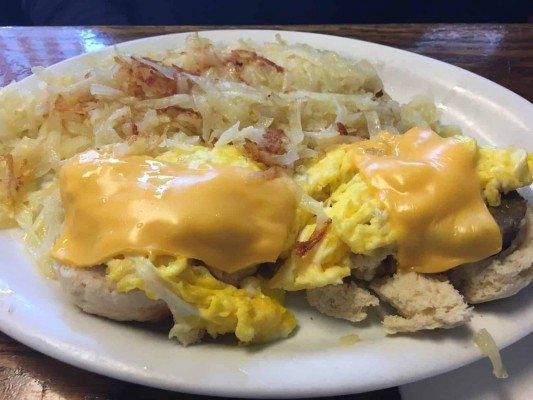 The Bomber Restaurant - Sunrise Biscuit