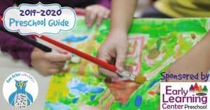 Ann Arbor Preschool Guide for 2019-2020 Sponsored by Early Learning Center Preschool